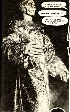 Exterminius: un extraterrestre amenaza la tierra