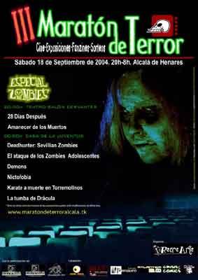 Maratón de terror: vivan los zombies II